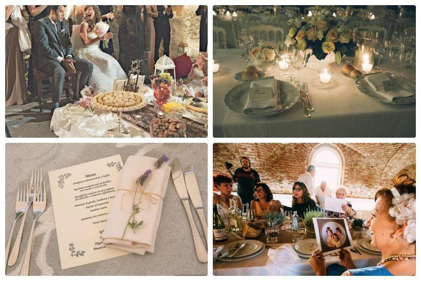 Super 10 idee per le decorazioni del tuo matrimonio vintage EU72