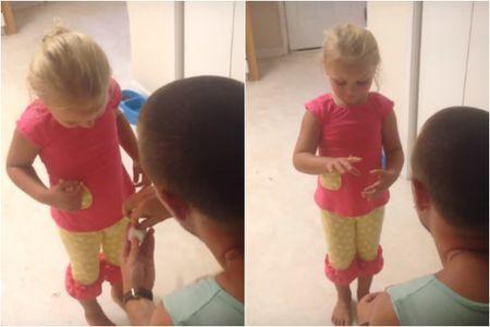 """""""Vuoi essere mia figlia per sempre?"""": guarda il video"""