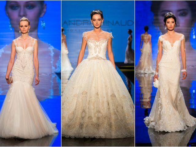 """Alessandra Rinaudo a """"Si SposaItalia"""" presenta la nuova collezione Bridal Couture 2017"""