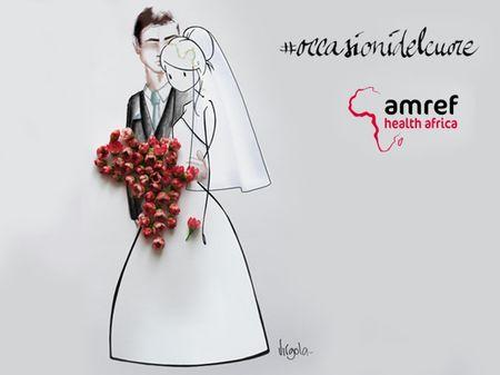 Con Amref Italia colora il tuo giorno speciale in un gesto d�amore che arriva lontano: in Africa!