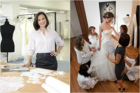 """""""La stilista delle spose"""": Alessandra Rinaudo svela i segreti delle sue creazioni su Real Time!"""