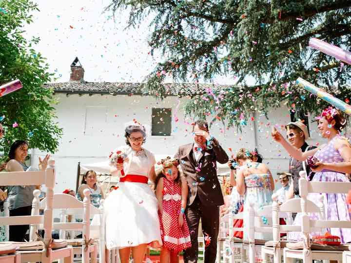 Bomboniere Matrimonio Stile Anni 50.Paola E Cristiano Un Matrimonio In Stile Anni 50