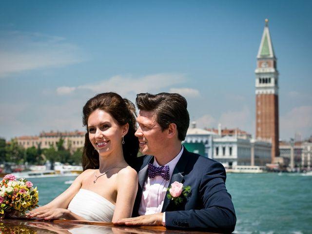 Natalia e Alexandr: un magico matrimonio a Venezia!