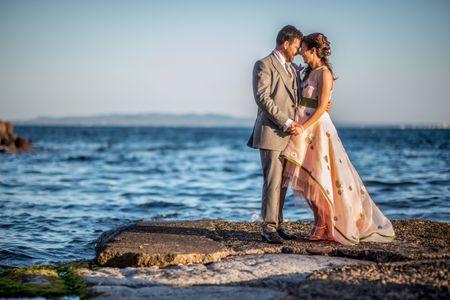 Dal mare d'Irlanda al mar di Sardegna: il matrimonio di Giuditta e Jonathan