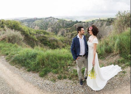 The Day After: l'amore di Sara e Simone immortalato tra le romantiche colline senesi