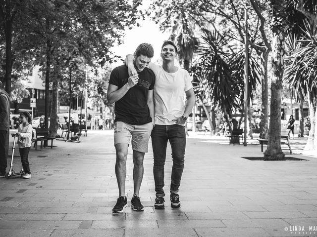 Nery e Sebastian: un amore tra le vie di Barcellona