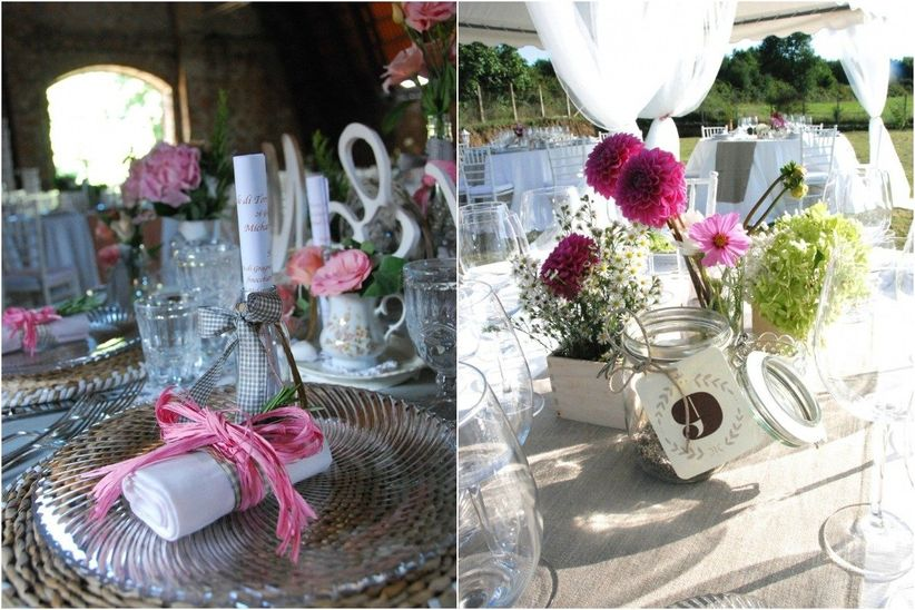 Matrimonio In Stile Country : Shabby chic matrimonio tavoli gd regardsdefemmes