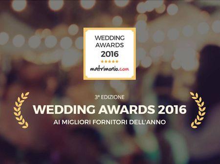 Matrimonio.com premia i migliori fornitori con i Wedding Awards 2016!