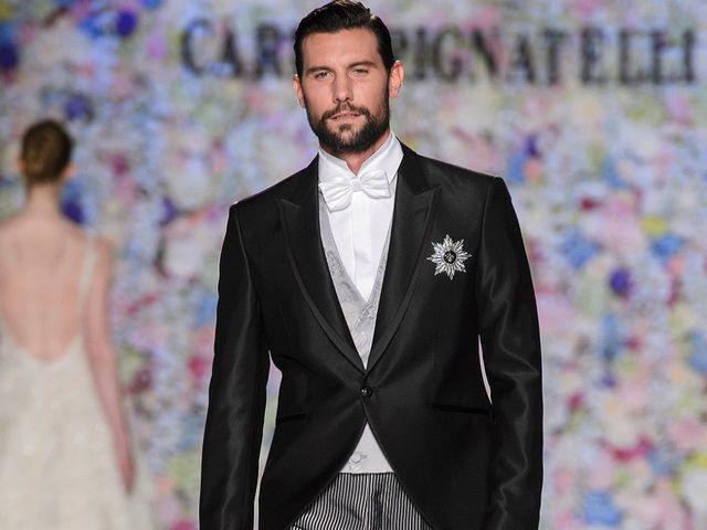 Abiti da sposo Carlo Pignatelli 2018: un gentleman stile British per il maestro del Made in Italy