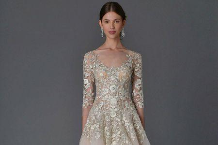 Abiti da sposa Marchesa 2017: una collezione romantica e glamour per spose eteree