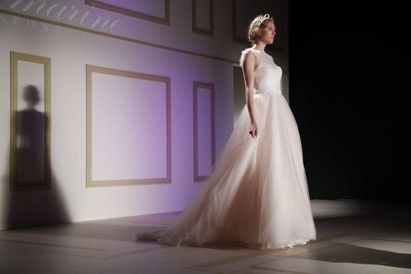 bdc79b3015be Abiti da sposa Blumarine 2018  un romantico omaggio ai 40 anni della ...