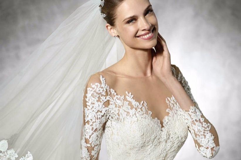 a59ab2f55d4e5f I meravigliosi abiti da sposa Pronovias: quando semplicità e ...
