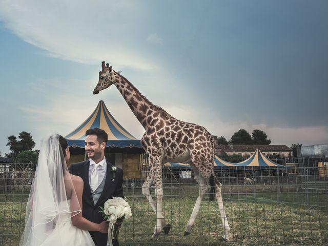 Francesco e Francesca, un matrimonio tra semplicità e sorrisi