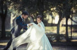 Realismo e magia: le suggestive nozze di Letizia e Fabio