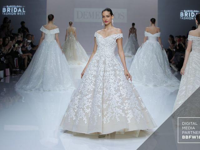 Abiti da sposa Demetrios 2019: un sofisticato design per un look da favola