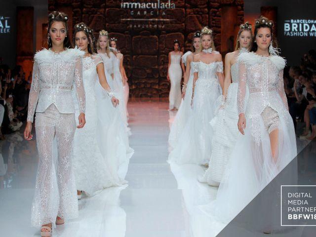 Abiti da sposa Inmaculada García 2019: la celebrazione della femminilità con un raffinato design