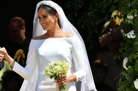 30 abiti da sposa ispirati al look di Meghan Markle