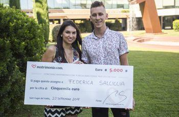 Chi avrà vinto la 66ª edizione del concorso di Matrimonio.com? Federica e Alessandro!