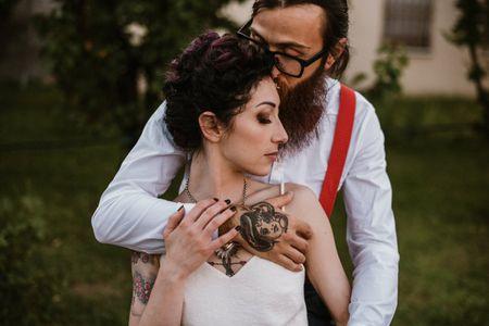 Elena e Marco: un amore rockabilly tatuato sul cuore