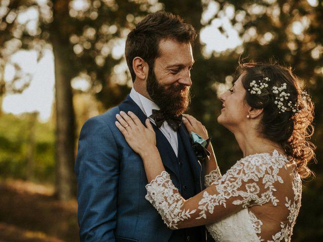 Un amore su tela: nozze al profumo di legno per Elena e Matteo