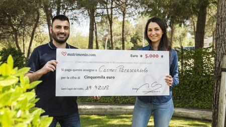 Carmen e Giuseppe vincono la 61ª edizione del concorso di Matrimonio.com