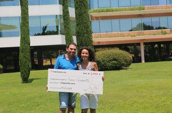 Maria e Riccardo vincono la 63ª edizione del concorso di Matrimonio.com!