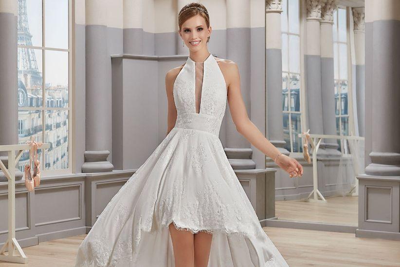 732c484ba7e7 Mademoiselle Amour. Tra tutti i modelli di abiti da sposa ...