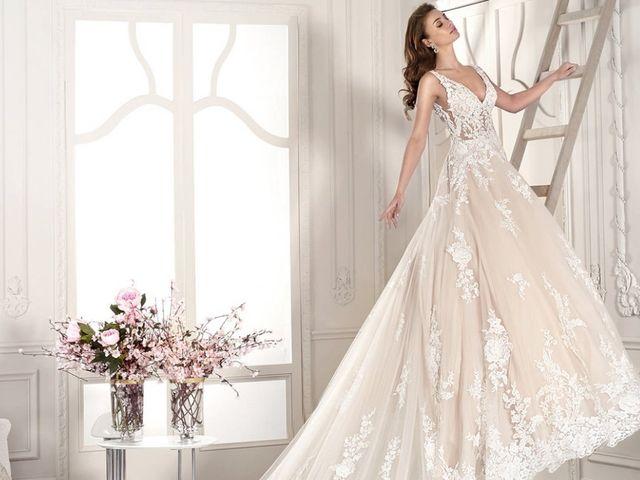Abiti da sposa con ispirazione floreale: quando la natura incontra la moda