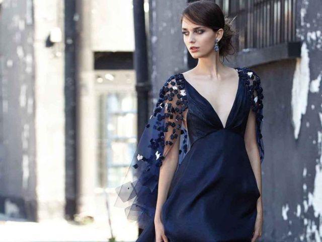 02e751cab88f Look blu notte e nero  i migliori consigli per le invitate a nozze