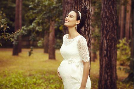 Abiti da sposa pre-maman: le regole base per valorizzare il vostro corpo