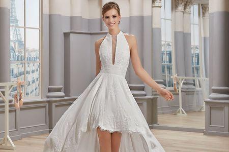 5 buoni motivi per scegliere un abito da sposa corto