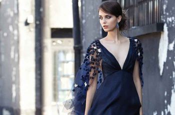 Look blu notte e nero: i migliori consigli per le invitate a nozze