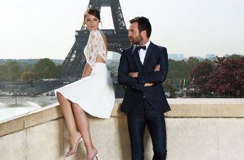 Matrimonio in stile urban? Scegliete un abito da sposa corto!