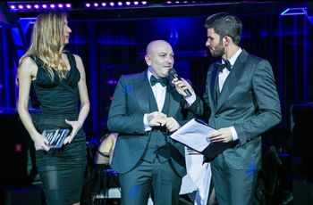 La casa di moda nuziale Petrelli Uomo premiata al Gran Galà di Sanremo per l'Eccellenza Italiana