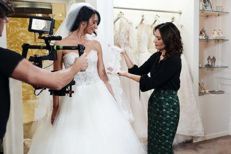 """""""La stilista delle spose"""" Alessandra Rinaudo ritorna su Rai Due"""