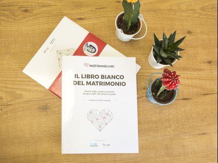 Il Libro Bianco del Matrimonio: uno studio sulle nozze in Italia