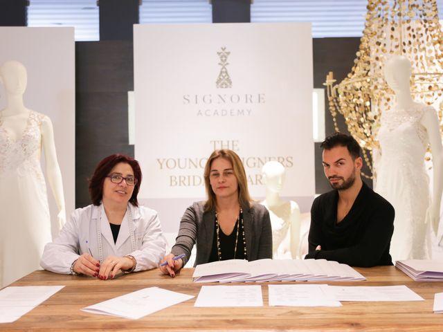 """Maison Signore premia i vincitori del contest """"The young designers bridal awards"""""""