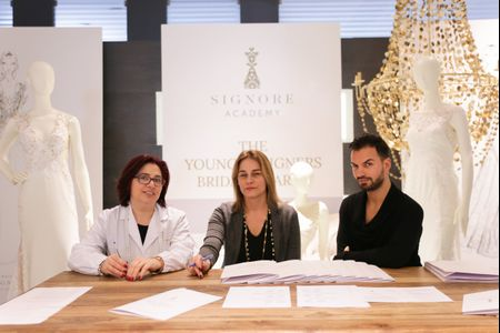 "Maison Signore premia i vincitori del contest ""The young designers bridal awards"""
