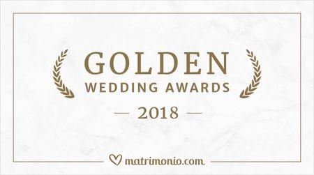 I vincitori della terza edizione dei Golden Wedding Awards