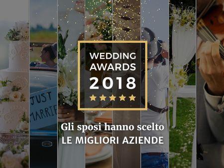 Wedding Awards 2018: i fornitori più premiati dagli sposi di Matrimonio.com