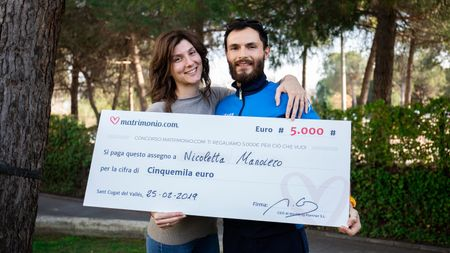 Chi ha vinto la 71ª edizione del concorso di Matrimonio.com? Vi presentiamo Nicoletta e Pasquale!