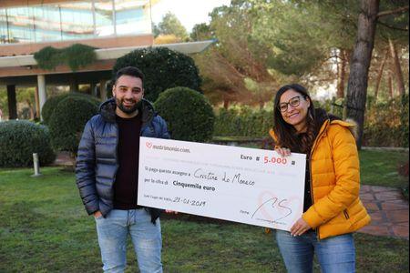 70ª edizione del concorso di Matrimonio.com: vincono Cristina e Salvatore