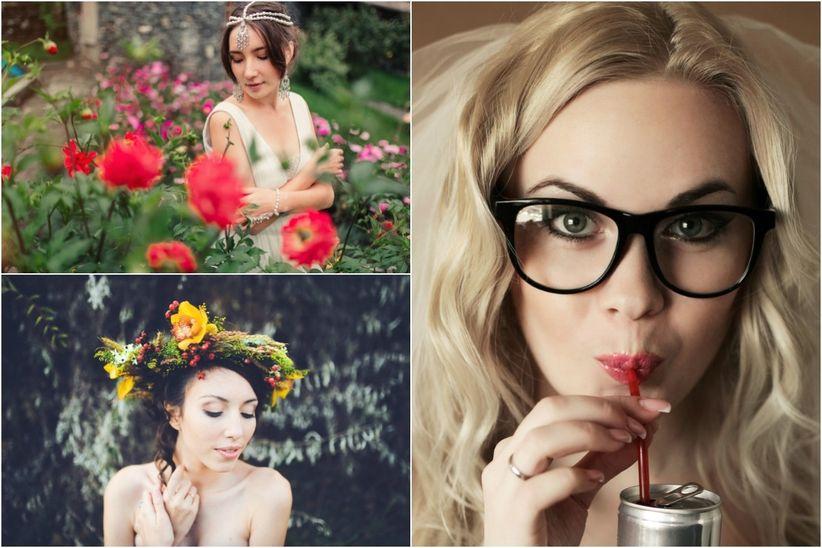 Acconciatura da sposa per i diversi tipi di viso - I diversi tipi di droga ...