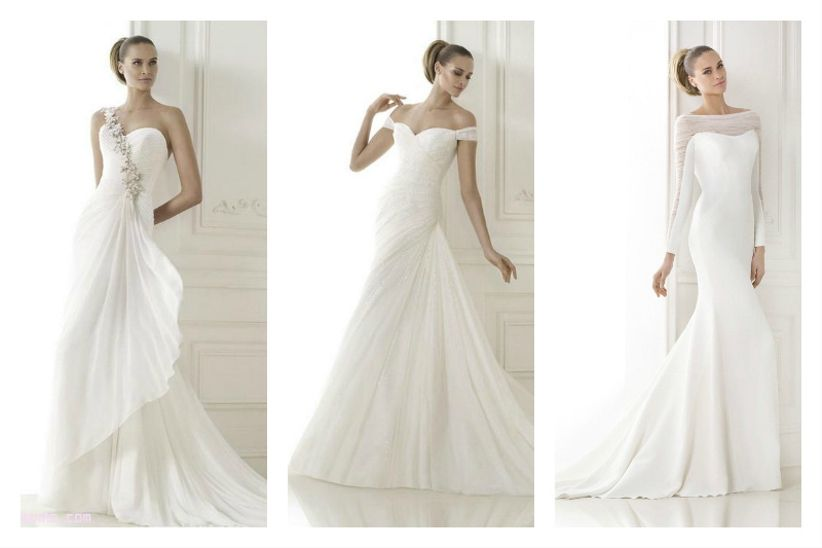 624885dae7b7 L azienda spagnola Pronovias continua a conquistare frotte di spose con i  suoi molteplici e strepitosi modelli. Il 2015