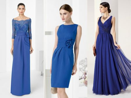 15 abiti blu per invitate al matrimonio