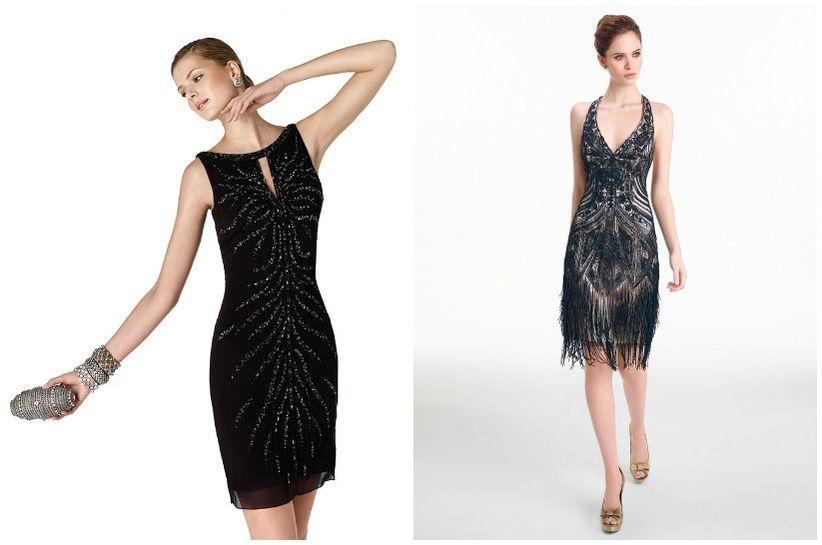 Al Matrimonio In Nero : Little black dresses per le invitate