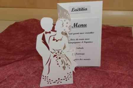 Partecipazioni Matrimonio Kirigami.Tutorial Per Menu Nozze Kirigami