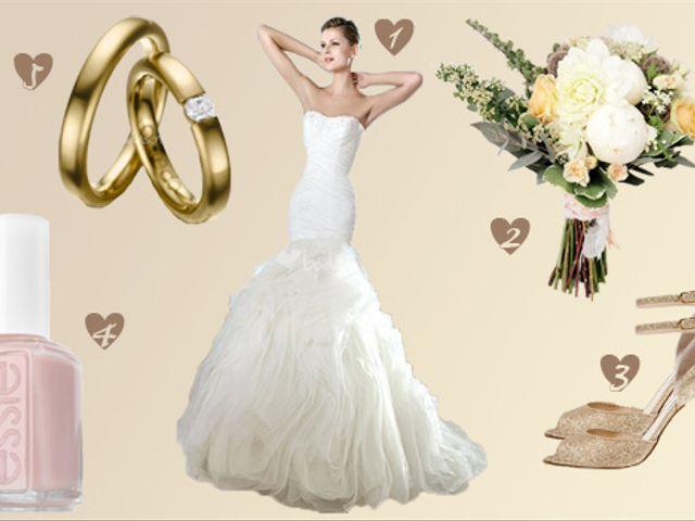 Look sposa sofisticato e naturale