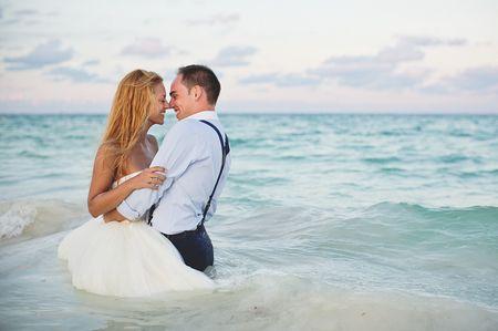 Sergio e Thalita, un Trash the Dress nella Riviera Maya