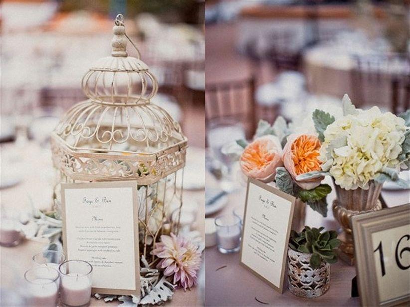 Decorazioni nozze per tavola vintage - Decoracion para bodas vintage ...